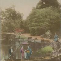 Garden of Hakone near Lake Biwa