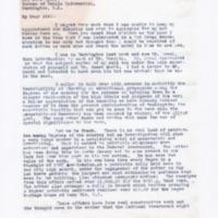 Robert A. Travis to Carl Byoir
