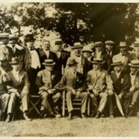 Woodrow Wilson in a Group