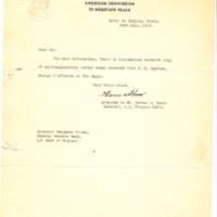 Thomas Shaw to Benjamin Strong Jr.