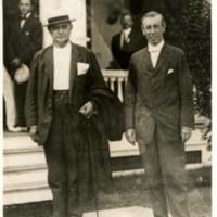 Woodrow Wilson and Champ Clark