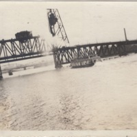 View of Bridges and Boat