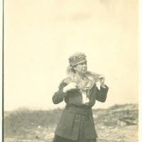 Edith Benham Helm in No Mans Land